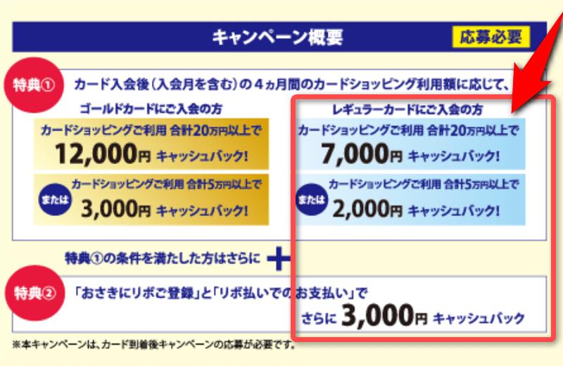 最大10,000円の内訳