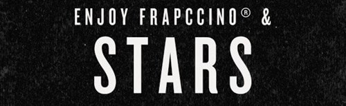 ENJOY FRAPCCINO & STAR