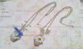 藤のバスケットネックレス