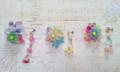 flower labyrinthピアスシリーズ