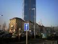 ブリュッセルでのホテルの目の前