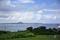 沖縄海洋博公園から伊江島を