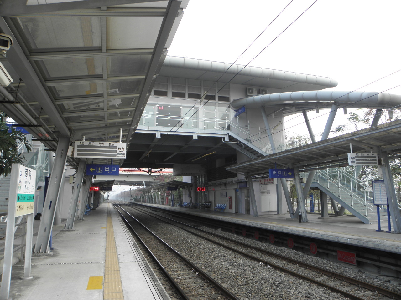 台鐵縦貫線駅巡り-99:南科車站 ...