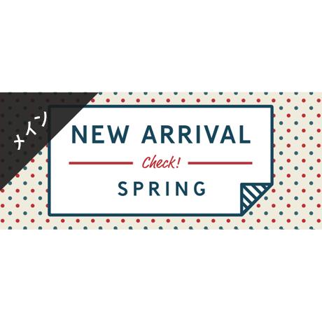 ネットショップ向け無料素材バナー春の新作メインビジュアル英文カラー