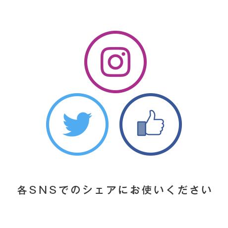ネットショップに使える無料素材バナーSNS利用説明