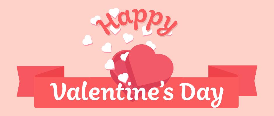 バレンタインデーを活用した販売促進用バナープレゼント