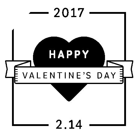 バレンタインデー販売促進用バナープレゼントSNS