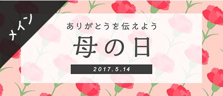 母の日カーネーションバナーメイン日本語