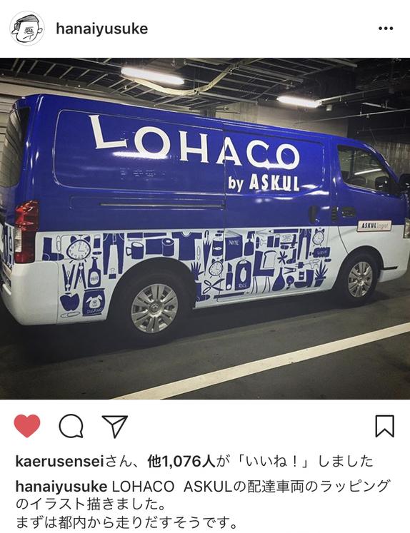 花井祐介(HANAIYUSUKE)lohacoトラック