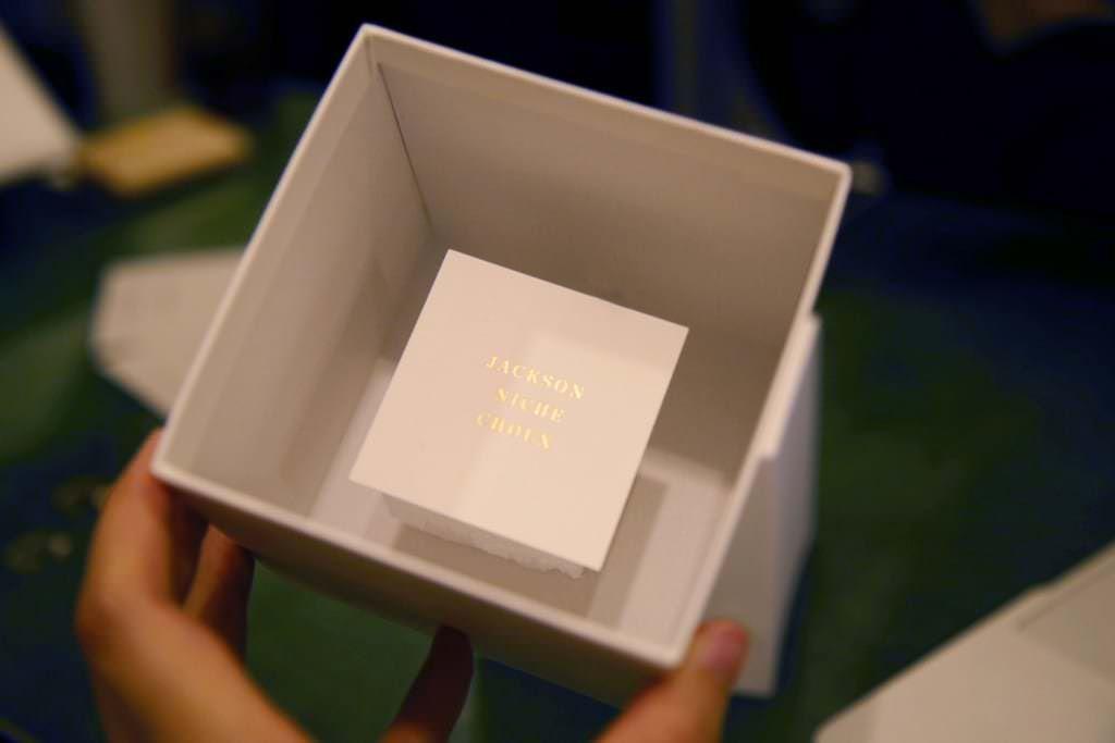 リング用のボックス