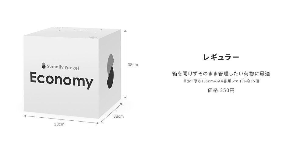 エコノミープラン・レギュラーサイズ