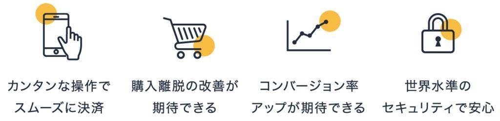Amazon Pay導入のメリット