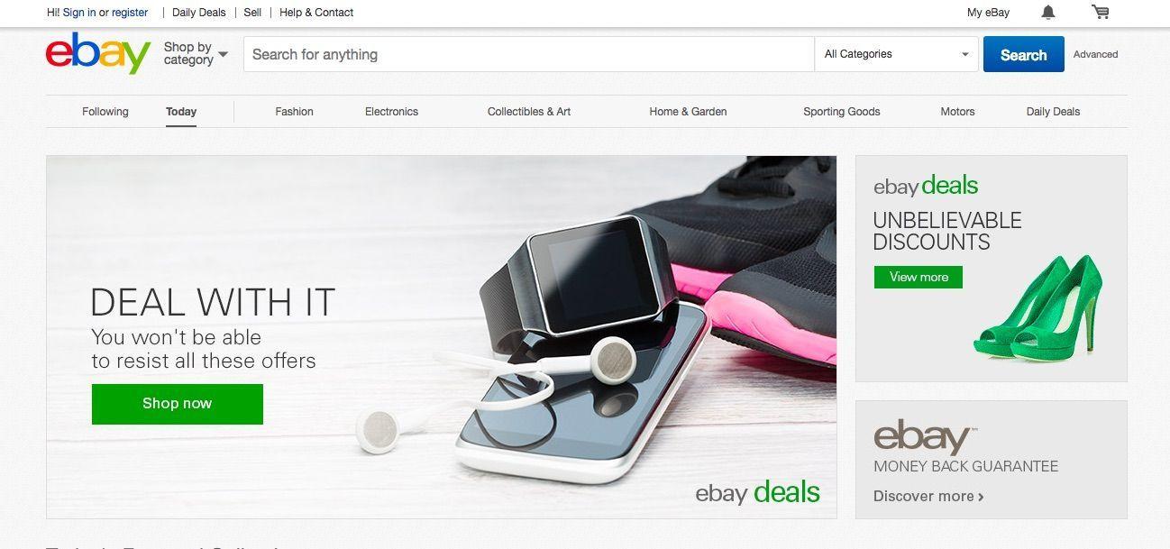 輸入代行の際に利用できるサイト:ebay