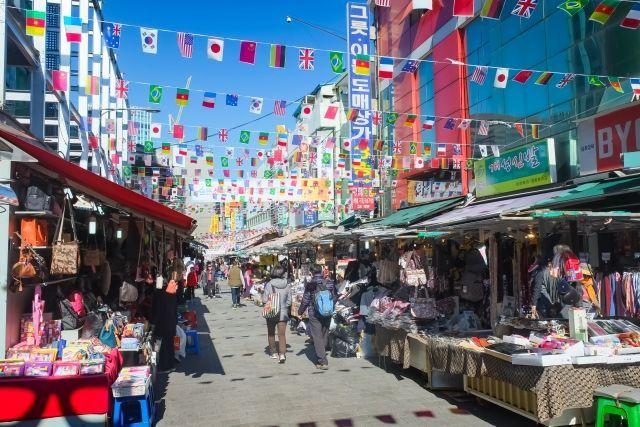 韓国の仕入れ  南大門市場