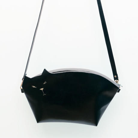 ☆Bigサイズ☆猫のクラッチポシェット001号(受注生産)