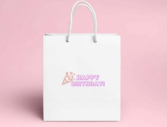 STORES.jp ロゴメーカーの使い方その1:誕生日のメッセージにも使える