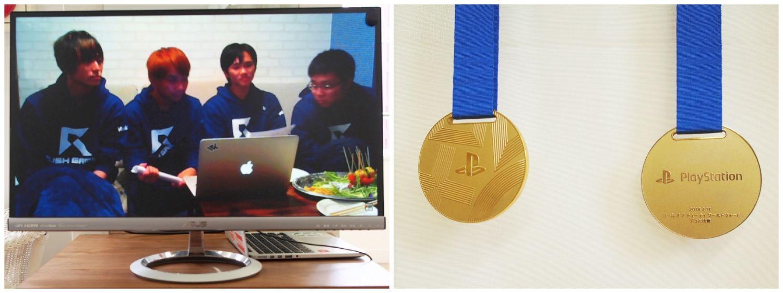 ストアの飾り付け_インタビュー動画とメダル
