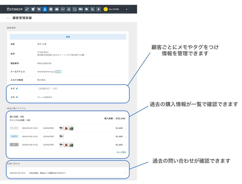 STORES.jpの新しい機能のお知らせ