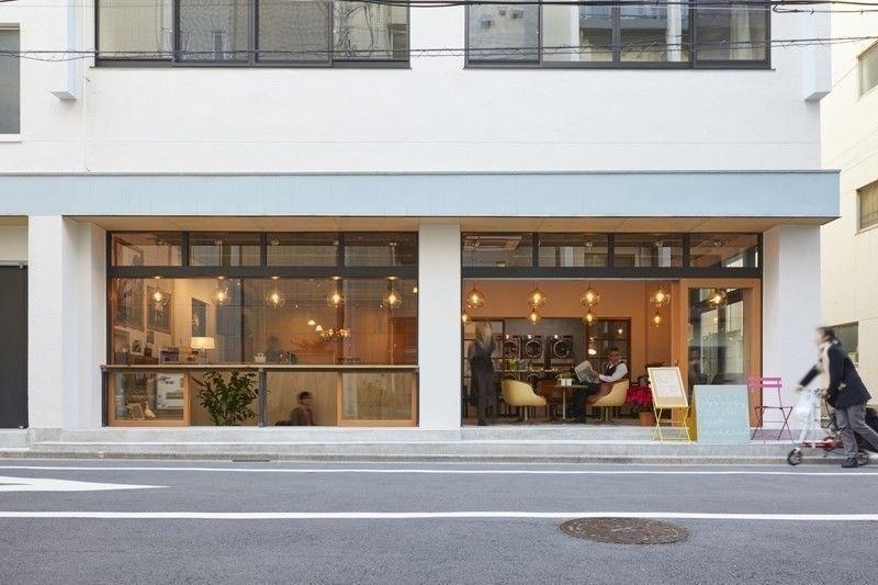 2018年1月に墨田区にオープンした喫茶ランドリー
