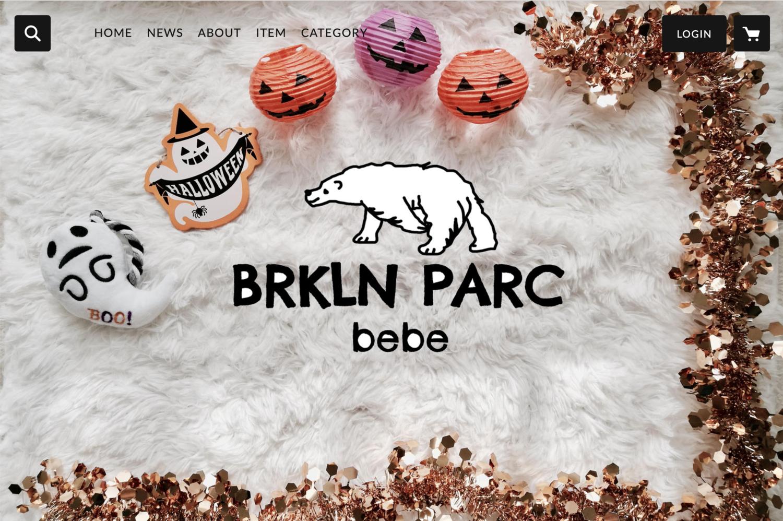 BRKLN PARCのネットショップTOP