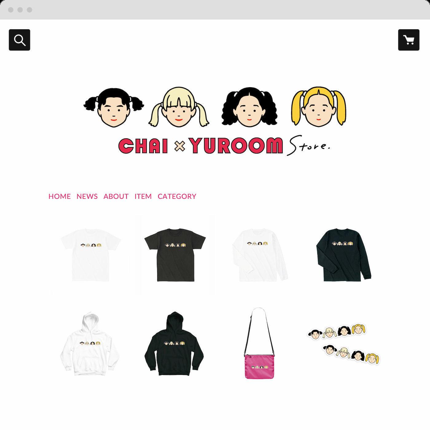 CHAI × yuroom コラボショップ