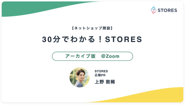 stores webiner