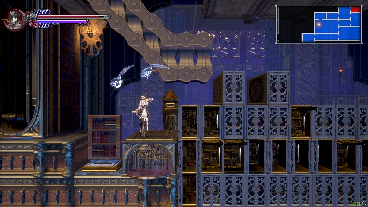 Bloodstained:Ritual of the Nightマップ埋め