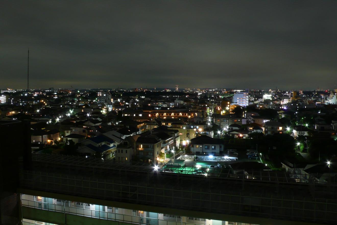 家付近の夜景