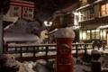 [夜][物][和]雪の中でも24時間営業中