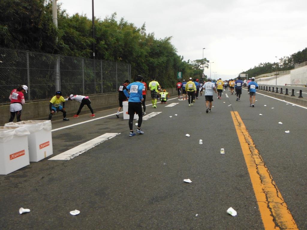 20121103湘南国際マラソン_36キロ地点