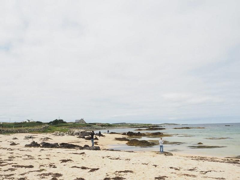 アイルランドの浜辺