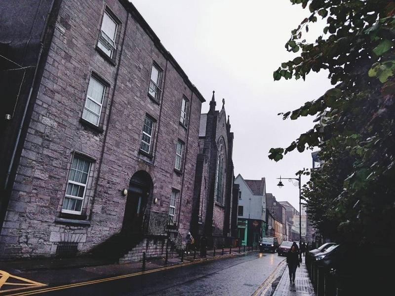 アイルランドの雨模様
