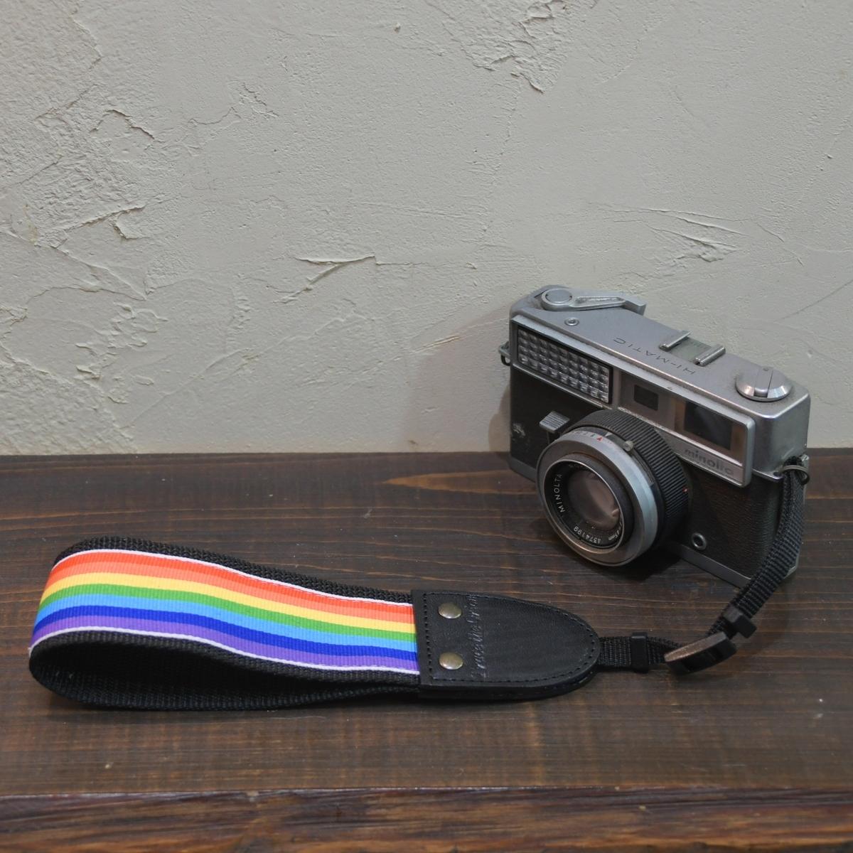 ギターストラップから一眼レフ用のハンドカメラストラップ製作