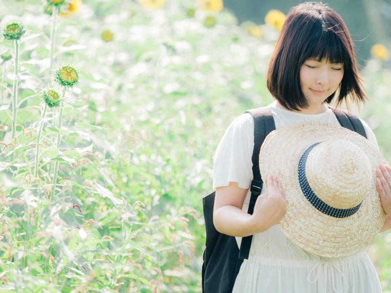 夏の女の子
