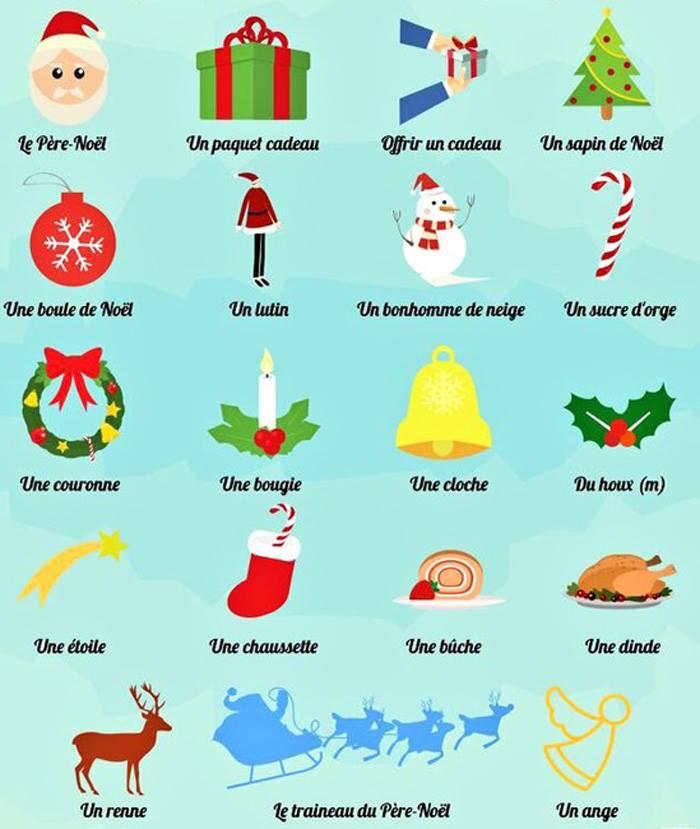クリスマス フランス語