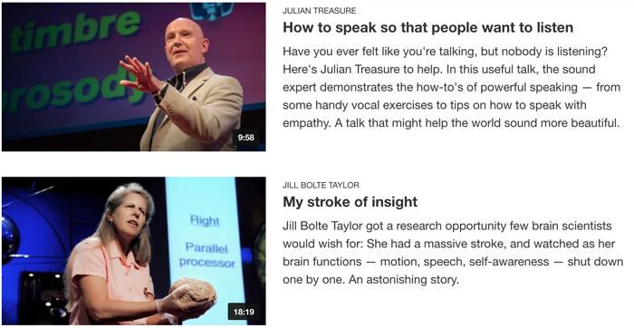 英語 学習 TED