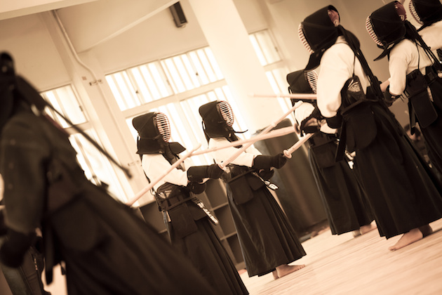 kendo, training at Osaka Shudokan Martial Arts Hall,17May2014