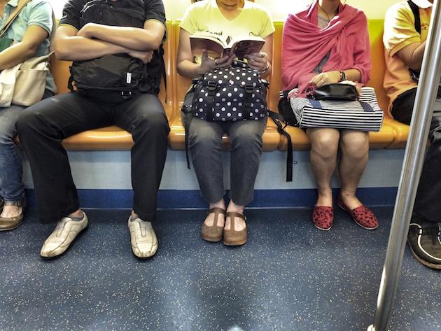 skytrain passengers