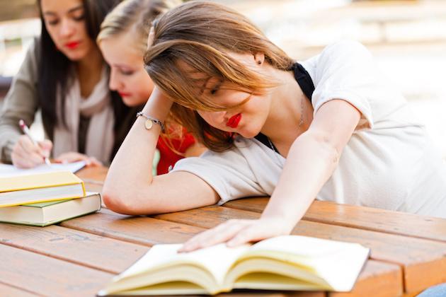 Girl Had Enough Of Books
