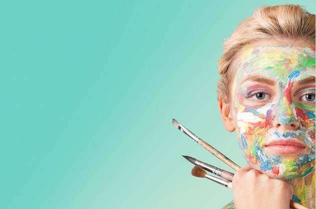Artist. Woman artist