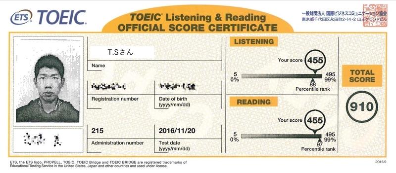 ts-toeic-score