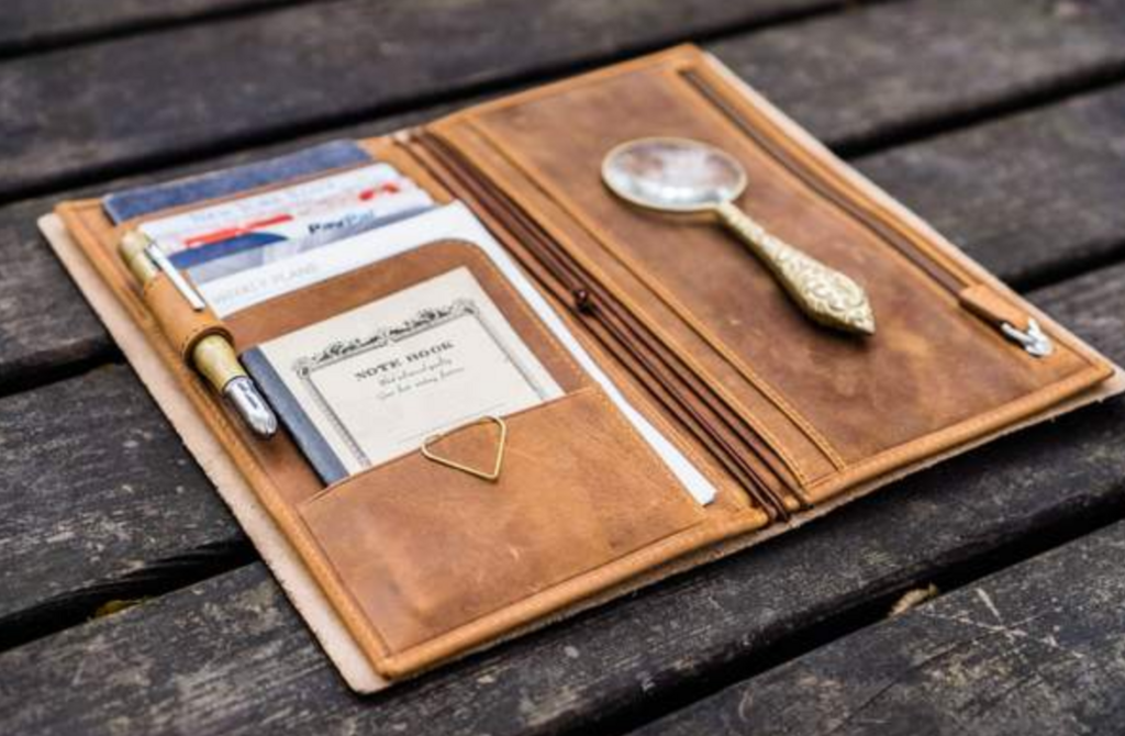 トラベラーズノート用ウォレット:wallet