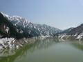 黒部ダムと立山連峰