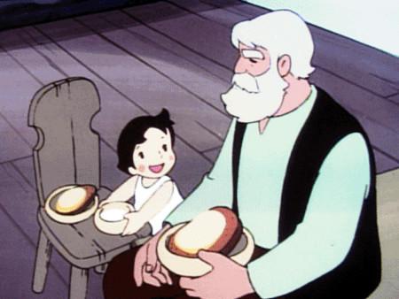 おじいさんとハイジ
