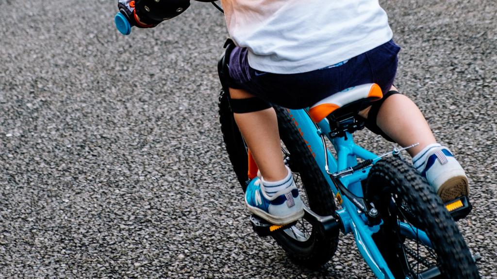 子供用自転車 練習