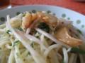 [Cooking]新生姜の冷製パスタ(9) 完成。美味しい