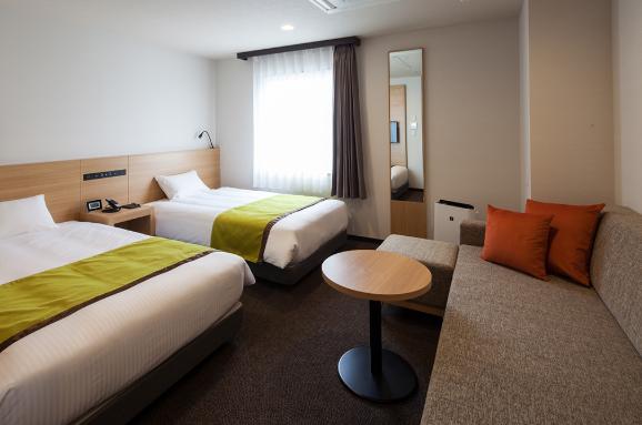 ワイズホテル旭川駅前の客室