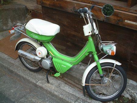 おもちゃみたいなバイク