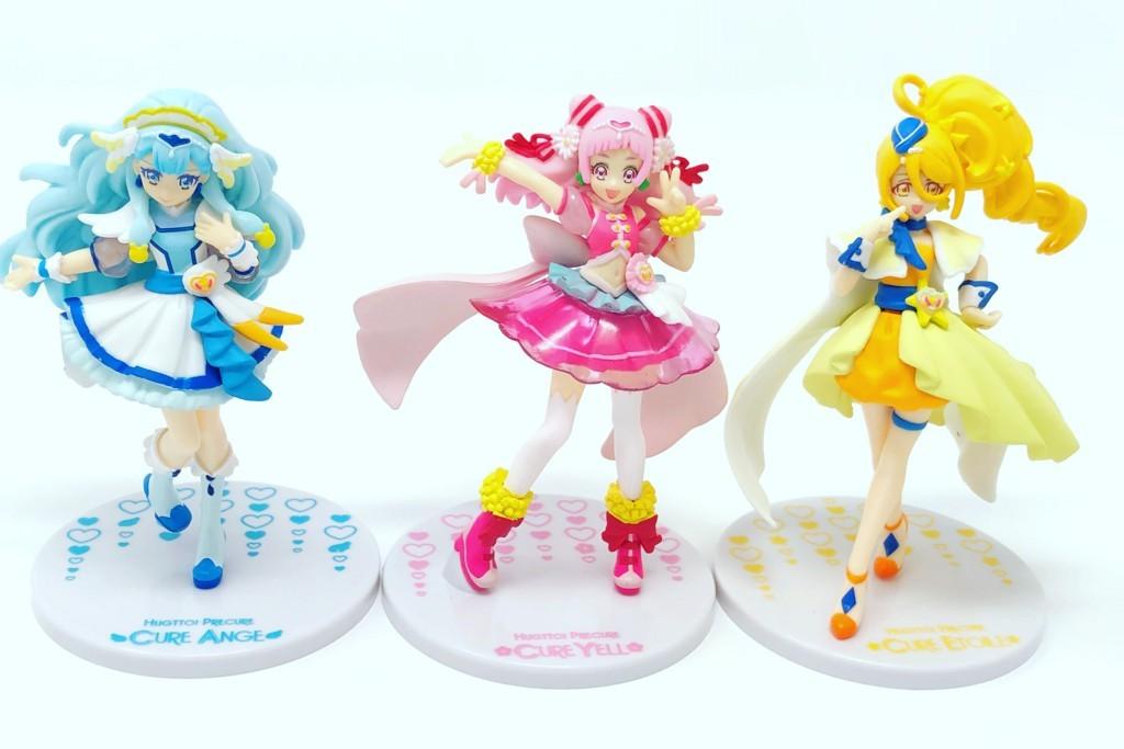 HUGっと!プリキュア キューティーフィギュア Special Set