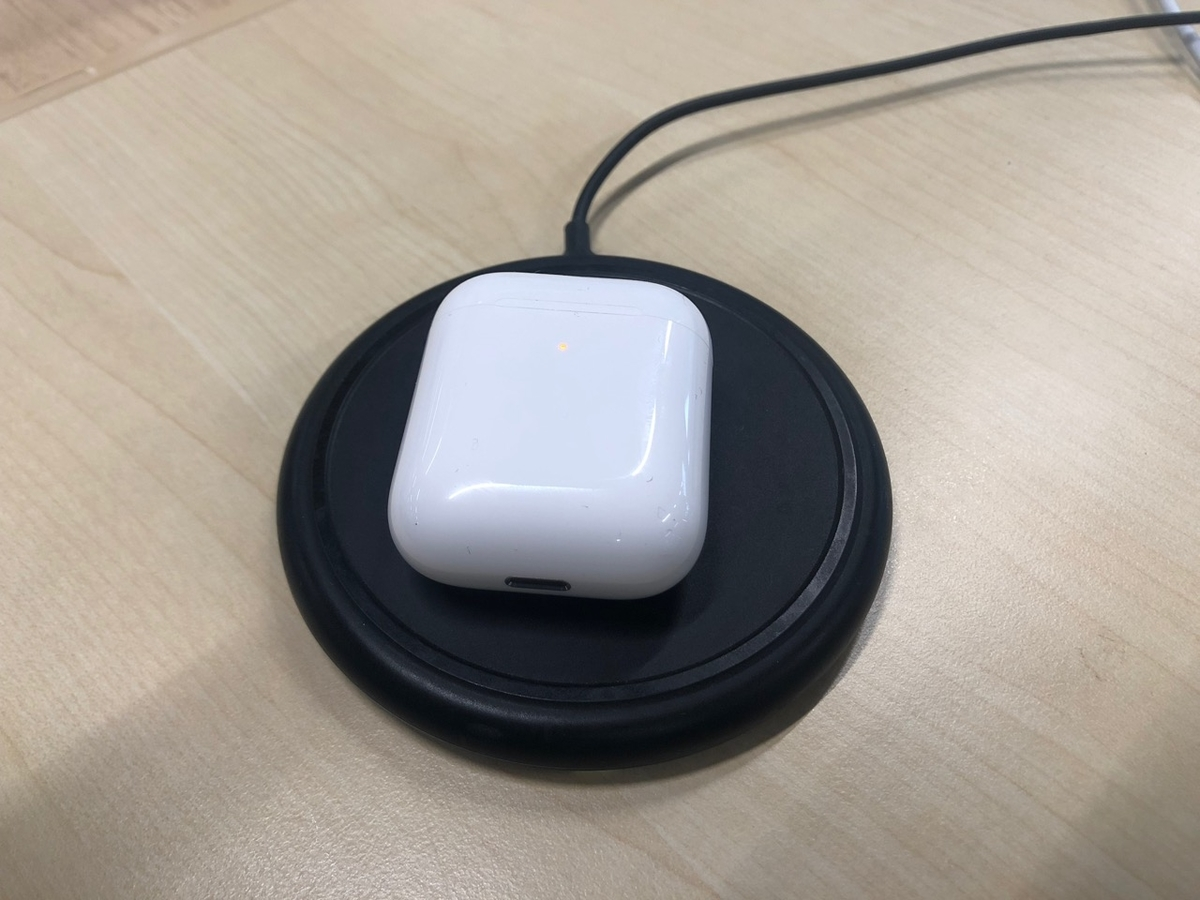 Apple AirPods(第2世代)非接触 充電